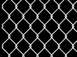 Fencing Chainlink 4x4 Galv 6#Gauge Wire Core, Vinyl Coated by: River
